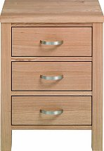 Vale Furnishers - Truro Bedside Cabinet